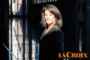 Portrait d'Anne Bouillon sur le magazine La Croix