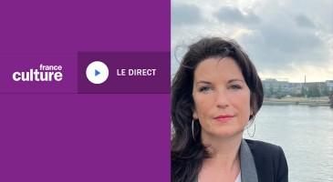 Anne bouillon sur France Culture